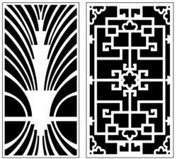 Design pattern panel screen AN00071399 file cdr and dxf free vector download for Laser cut CNC