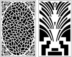 Design pattern panel screen AN00071400 file cdr and dxf free vector download for Laser cut CNC