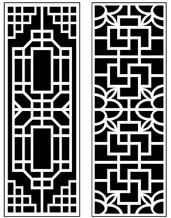 Design pattern panel screen AN00071402 file cdr and dxf free vector download for Laser cut CNC