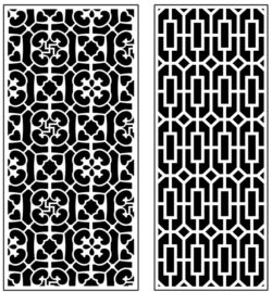 Design pattern panel screen AN00071403 file cdr and dxf free vector download for Laser cut CNC