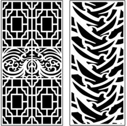 Design pattern panel screen AN00071404 file cdr and dxf free vector download for Laser cut CNC