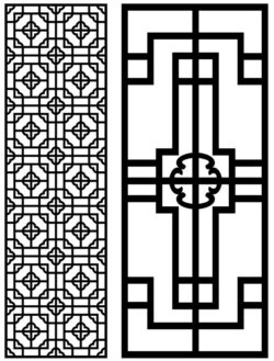 Design pattern panel screen AN00071406 file cdr and dxf free vector download for Laser cut CNC