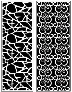 Design pattern panel screen AN00071411 file cdr and dxf free vector download for Laser cut CNC