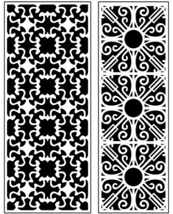 Design pattern panel screen AN00071412 file cdr and dxf free vector download for Laser cut CNC