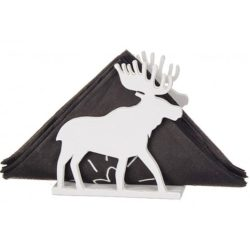 Elk Napkin Holder file cdr and dxf free vector download for Laser cut
