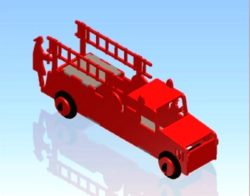 Flick Fire engine file cdr and dxf free vector download for Laser cut