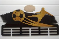 Football medal shelf file cdr and dxf free vector download for Laser cut