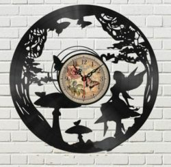 Forest wall clock file cdr and dxf free vector download for Laser cut