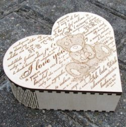 Heart of love file cdr and dxf free vector download for Laser cut