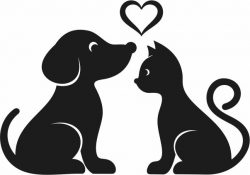 Kittens and puppies murals free vector download for Laser cut Plasma
