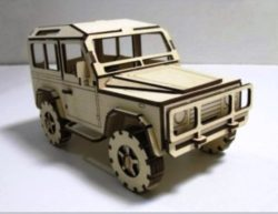 Land Rover file cdr and dxf free vector download for Laser cut