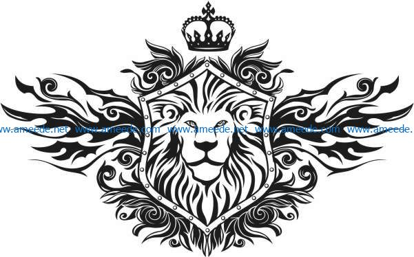 Lion King File Cdr And Dxf Free Vector Download For Print Or Laser Engraving Machines Download Free Vector