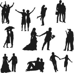 Love and wedding file cdr and dxf free vector download for Laser cut Plasma