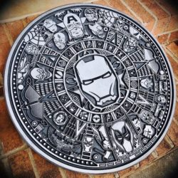 Marvel  file cdr and dxf free vector download for laser engraving machines