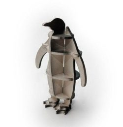 Penguin nested file cdr and dxf free vector download for Laser cut