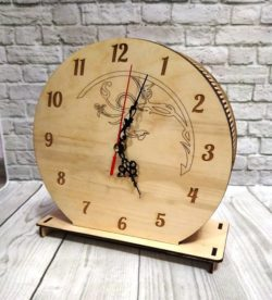 Piggy bank clock file cdr and dxf free vector download for Laser cut