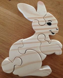 Rabbit file cdr and dxf free vector download for Laser cut
