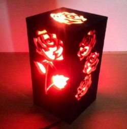Rose lanterns file cdr and dxf free vector download for Laser cut