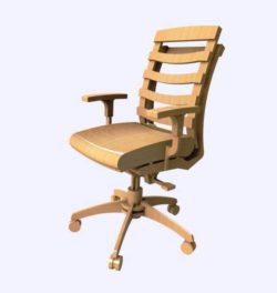 Spinning chair file cdr and dxf free vector download for Laser cut