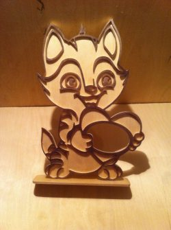 Squirrel photo frame file cdr and dxf free vector download for Laser cut
