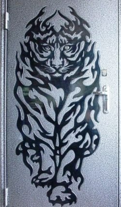 Tiger at the door file cdr and dxf free vector download for laser engraving machines