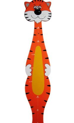 Tiger height ruler file cdr and dxf free vector download for Laser cut