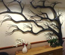 Tree decorated the wall file cdr and dxf free vector download for Laser cut CNC