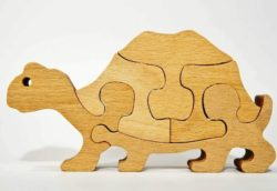 Turtle puzzle piece file cdr and dxf free vector download