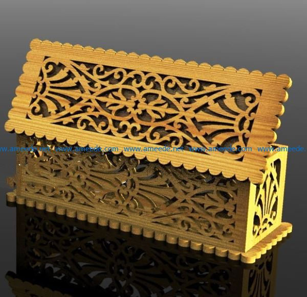 Unique casket file cdr and dxf free vector download for Laser cut