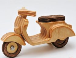 Vespa model file cdr and dxf free vector download for Laser cut
