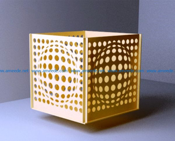 Wall lamp file cdr and dxf free vector download for Laser cut