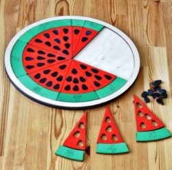 Watermelon file cdr and dxf free vector download for Laser cut