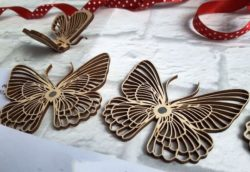 Wooden butterfly file cdr and dxf free vector download for Laser cut