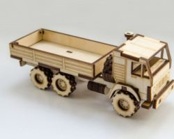 Wooden truck file cdr and dxf free vector download for Laser cut