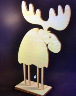 cute deer file cdr and dxf free vector download for Laser cut