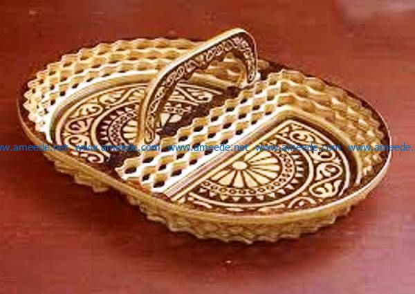 decorative plate file cdr and dxf free vector download for Laser cut