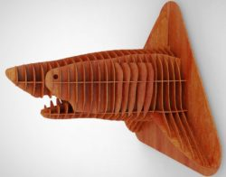 shark head file cdr and dxf free vector download for Laser cut CNC