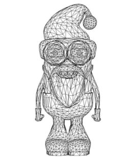 3D illusion led lamp minion free vector download for laser engraving machines