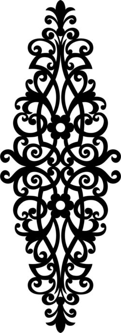 Beautiful decorative motifs file cdr and dxf free vector download for laser engraving machines