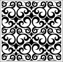Carved wood Vector file cdr and dxf free vector download for laser engraving machines