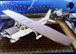 Cessna-k40 aircraft model file cdr and dxf free vector download for Laser cut