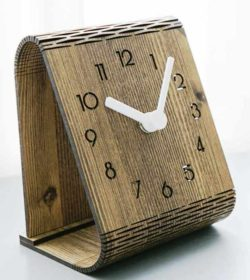 Clock bend file cdr and dxf free vector download for Laser cut