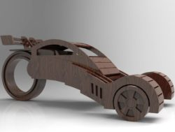 Concept car file cdr and dxf free vector download for Laser cut