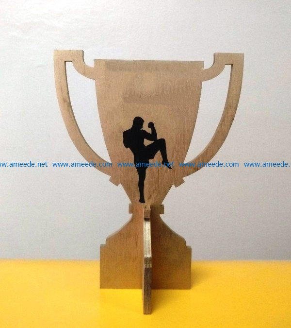 Cup for coach file cdr and dxf free vector download for Laser cut
