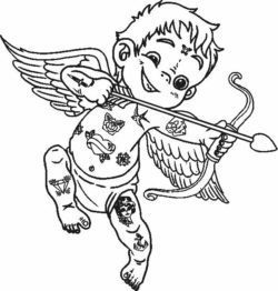 Cupid in clothes file cdr and dxf free vector download for laser engraving machines
