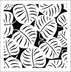 Decorative leaves square file cdr and dxf free vector download for Laser cut