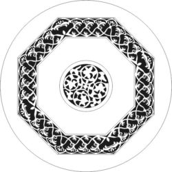 Decorative motifs circle file cdr and dxf free vector download for CNC cut
