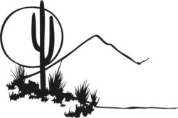 Desert painting file cdr and dxf free vector download for Laser cut Plasma