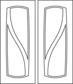 Design pattern door E0008524 file cdr and dxf free vector download for Laser cut CNC