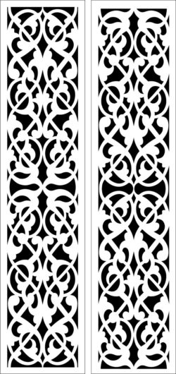Design pattern panel screen E0008640 file cdr and dxf free vector download for Laser cut CNC